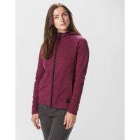 Sprayway Womens Hall Full-Zip Fleece, Purple