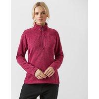 Sprayway Women's Kiso Half-Zip Fleece, Red