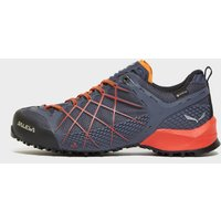 Salewa Men'ss Wildfire GORE-TEX Approach Shoes, Navy/ORG