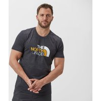 The North Face Mens Easy Short Sleeve T-Shirt, Dark Grey
