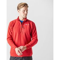 Berghaus Mens Stainton Half-Zip Fleece, Red