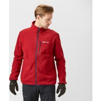 Berghaus Mens Fortrose 2.0 Fleece, Red