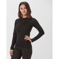 Technicals Women's Merino Long-Sleeve Crew Neck, Black