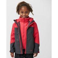 Peter Storm Kid's Cloudburst 3-in-1 Jacket, Grey