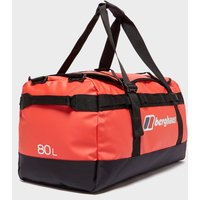 Berghaus 80L Holdall, Red