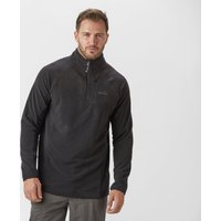 Peter Storm Men's Grid Half-Zip Fleece, Black/BLK