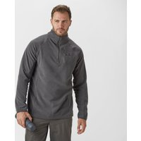 Peter Storm Mens Grid Half-Zip Fleece, Grey