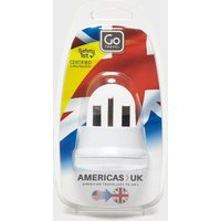 Design Go USA - UK plug adaptor, White