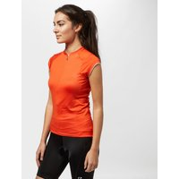 Bontrager Womens Vella Cycling Jersey, Red