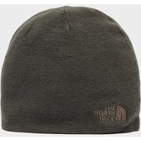 The North Face Mens Reversible Knitted Beanie, Brown