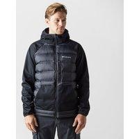 Columbia Men's Ramble Down Hybrid Hooded Jacket, Black