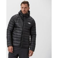 The North Face Mens Trevail Hooded Down Jacket, Black
