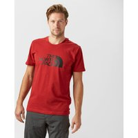 The North Face Mens Easy Short Sleeve T-Shirt, Red