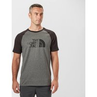 The North Face Mens Raglan Easy T-Shirt, Black