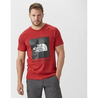The North Face Mens Redbox T-Shirt, Red