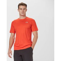 The North Face Mens Mountain Athletics Flex T-Shirt, Orange