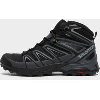 Salomon Mens X Ultra 3 GORE-TEX Mid Boot, Black