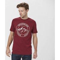Brakeburn Men's Crest T-Shirt, Burgundy