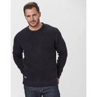 Brakeburn Mens Crew Knit Sweater, Navy