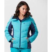 Salomon Womens Icetown Jacket, Blue