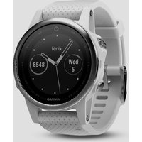 garmin fēnix 5s multisport gps watch, silver