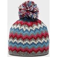Kusan Women's Zigzag Bobble Hat, Multi