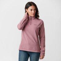 Brasher Womens Bleaberry Ii Half-zip Fleece  Pink