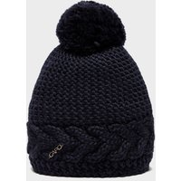 Capo Women's Flora Bobble Hat, Navy