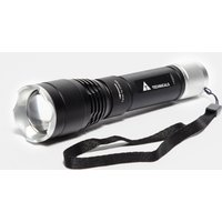 Technicals Rechargeable Aluminium Torch, Black/grey