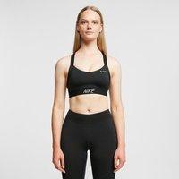 Nike Training Indy Logo Bra, Black/White