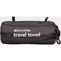 Eurohike Microfibre Suede Twill Travel Towel - Large, Blue/MBL