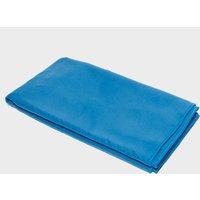 Eurohike Micro-fibre Suede Towel Medium, Blue/MBL