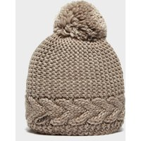 Capo Women's Flora Bobble Hat, Beige