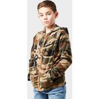 Peter Storm Kid's Full-Zip Camo II Fleece, Camouflage