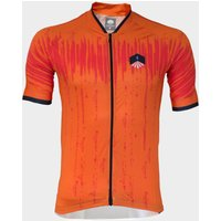 Spokesman Mens Tracker Cycling Jersey, Red
