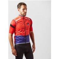 Spokesman Men's Summer Cycling Gilet, Red