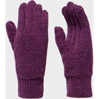Peter Storm Womens Thinsulate Chennile Gloves - Purple, Purple