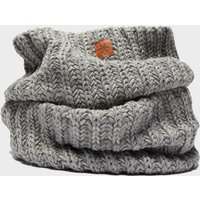 Alpine Womens Knitted Snood, Grey