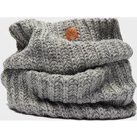 Alpine Womens Knitted Snood - Grey, Grey