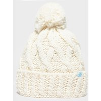 Alpine Women's Chunky Bobble Hat, CRM/CRM