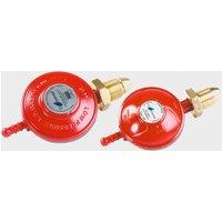 Continental Propane Gas Regulator, RED/PROPANE