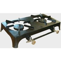 Continental DOUBLE BURNER, BLACK/CAST