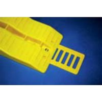 Fiamma Anti Slip Plate, YELLOW/PLATE