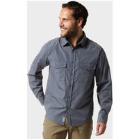 Craghoppers Mens Kiwi Long Sleeved Shirt  Blue