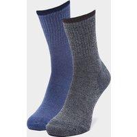 Hi-Gear Men's Walking Socks (2 Pair Pack), Grey