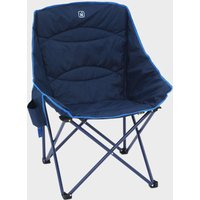 Hi-gear Vegas Xl Deluxe Quilted Chair  Navy