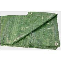 HI-GEAR 12 x 8 Groundsheet, Green/12X8