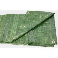 HI-GEAR 6 x 8 Groundsheet, Green/6X8