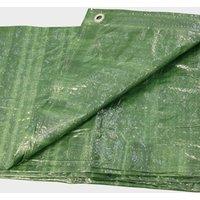 HI-GEAR 13 x 10 Groundsheet, Green/13X10