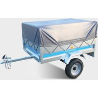 Maypole MP68128 High Cover and Frame (to fit MP6812 trailer), Silver/LARG